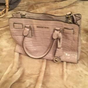 Authentic light grey handbag in great condition